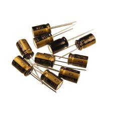 10 CONDENSATORE Premium Grade Nichicon Muse KZ Elko 100uf 25v for audio 852402