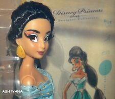 DISNEY DESIGNER COLLECTION DOLL - JASMINE - BNIB - LTD ED 3736/6000  -SOLD OUT