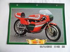 CARTE FICHE MOTO YAMAHA TD3   1973