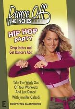 Dance Off The Inches - Hip Hop Party (DVD) R- ALL, LIKE NEW, FREE POST AUS-WIDE
