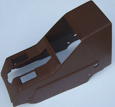 VOLVO 240 center console e brake parking brake cover BROWN arm rest 1373618