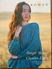 Rowan Yarns Simple Shapes Creative Linen by Marie Wallin