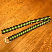 """Polo Ralph Lauren Rainbow Belt 1-1/2"""" Wide Ring Buckle"""