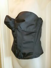 FREDRICK'S OF HOLLYWOOD Black with underwear Bustier Corset Lingerie 36