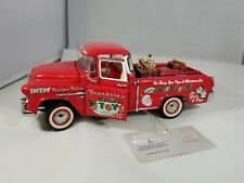 Franklin Mint 1:24 1998 Christmas Truck 1955 Chevrolet Cameo Pickup Low #23