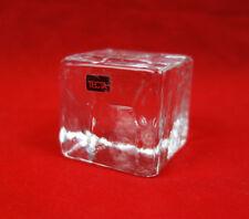 1 ( v.3) Tecta / Glaswürfel / Würfel / Glas / Briefbeschwerer / Deko /