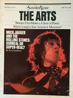 Saturday Review The Arts Magazine August 12th 1972. Mick Jagger VG Condition