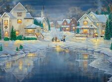 Jigsaw puzzle Winterscape Evening Light 1000 piece NEW Made in USA