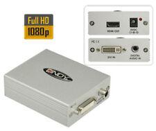 Lindy - DVI-D and SPDIF to HDMI Converter Kombiniert digitale DVI-D-Monitor NEU