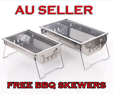 Outdoor Portable & Foldable Charcoal BBQ Grill Hibachi Picnic Barbecue BBQs