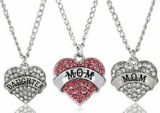 Markenlose Modeschmuck-Halsketten & -Anhänger aus Legierung mit Herz und Beauty