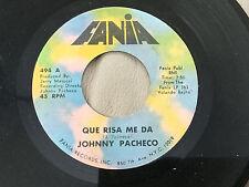 JOHNNY PACHECO-OVIDIO Y CECILIA / QUE RISA ME DA-ON FANIA -45RPM EX