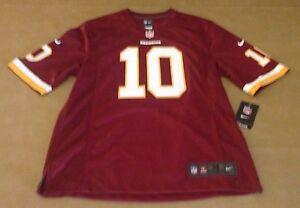 NWT Nike NFL Players Washington Redskins Men Jersey Size Medium Griffin III #10