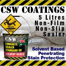Penetrating Concrete Sealer Solvent Based - Moisture Protection - Non Slip 5L