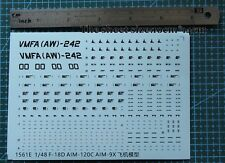 1/48 decals for F-18D  model kits (1561e)