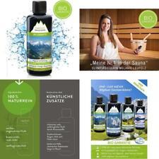 Saunaaufguss Mit 100% Bio-Öle Erfrischung Lemongrass Orange Bergamotte (100Ml).