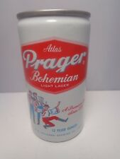ATLAS PRAGER ALUMINUM PULL TAB BEER CAN #36-5  HEILEMAN EVANSVILLE, IND