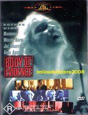BODY of EVIDENCE (MADONNA William DAFOE Anne ARCHER) Sexy THRILLER DVD NEW Reg 4
