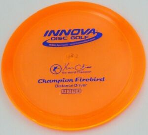 NEW Champion Firebird 173-5g Orange Driver Innova Disc Golf at Celestial Discs