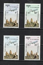 Cambodia - C55-8 Mint Airmail Set VFNH, Cv $42.50 (2012), see desc.