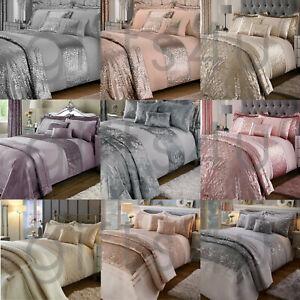 Duvet Cover Set 8/10 Pieces Full Bedroom Ensemble Bedding Set Champagne Mauve