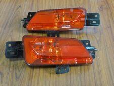 Rear Reflector Fog Lights Lamps Set For Peugeot 408 2013