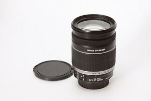 Canon EF-S 18-200mm F/3.5-5.6 IS For Canon - Black #1 - Canon Crop Sensor Only