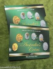 2004  AUSTRALIAN MINT SET OF COINS, SLIPCASE MARK