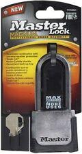 """Master Lock #m176xdlhccsen 2"""" Comb Padlock/key"""