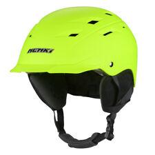 NENKI Ski Snowboard Helmet,Black,Orange,Fluo Yellow,White Colours Available,CE