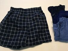 Fruit Of The Loom Boys Size Medium Boxer Shorts 4 Pairs Blue
