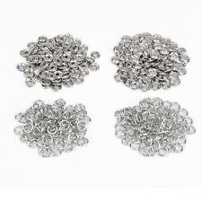 100pcs 9,5mm Botones Corchetes Cierre de Presión Plateado silver prong ring