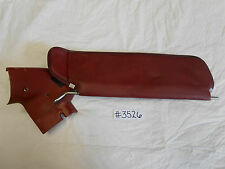 1987 - 1993 Mustang Convertible Sun Visor with Bracket - Red - Driver