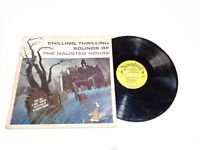 Chilling Thrilling Sounds Of The Haunted House Disneyland Record Halloween LP