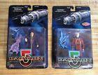 2 Piece Lot - Babylon 5 Delenn & Lennier Action Figures Mint on Card