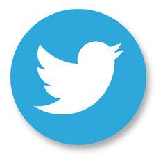 """Pin Button Badge Ø25mm 1"""" Réseaux Sociaux Web 2.0 The Social Network Twitter"""