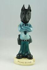 Police Great Dane Black -See Interchangeable Breeds & Bodies @ Ebay Store