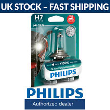 Philips Xtreme Vision Moto H7 130% More Light Motorcycle Headlight Bulb (Single)