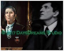 Tribute Art Frid Original Dark Shadows Tv Show Barnabas Collins Portrait Double