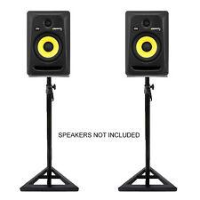 Studio Monitor Stands - Adjustable Hi-Fi / Studio Speaker Stands