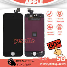 For iPhone 5 Full LCD Touch Screen Display Digitizer Assembly Replacement Black