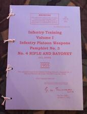 LEE ENFIELD .303 No. 4 & No. 5 JUNGLE CARBINE PAMPHLET NATIONAL SERVICE