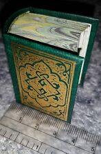 "Arabic Miniature 3"" Book Quran Koran Islam Mini Deluxe Collection Souvenir Gift"