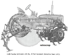 Ih International Farmall C Super C C 254 2 Row Corn Amp Cotton Cultivator Manual