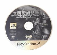 USED PS2 Game Disc Only SANGOKUSHI SENKI JAPAN Sony PlayStation 2 import game