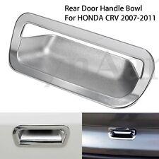 ABS Chrome Car Vehicle Rear Door Handle Bowl Cover Trim For HONDA CRV 2007-2011