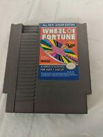 WHEEL OF FORTUNE JUNIOR EDITION NES NINTENDO  1985