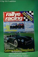 Rallye Racing 2/84 AC Mk IV Maserati Biturbo BMW 323i