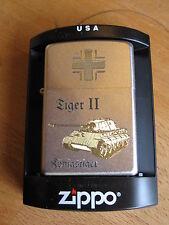 Zippo Königstiger Tiger II Balkenkreuz Jagdpanzer EK WH WK2 WWII German Tank OVP