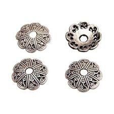 10 Caps calottes coupelles _ 13X13X2,6mm _ Perles apprêts création bijoux _ A410